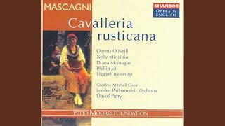 Cavalleria rusticana (Sung in English) : No, no, Turiddu (Santuzza)