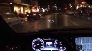 2015 Mercedes-Benz New S-class Coupe Driving POV Review