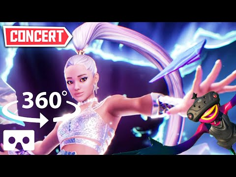 360° Ariana Grande Live in Game CONCERT   THE RIFT TOUR Event Fortnite in VR