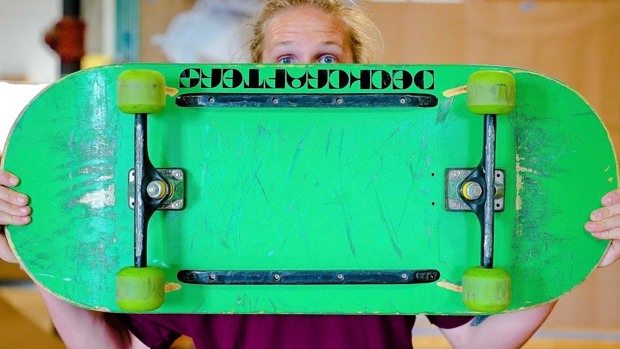 Download WIDEST SKATEBOARD EVER