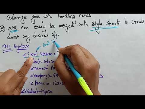 Extensible Markup Language (XML) | Web Technology | Lec-21 | Bhanu Priya