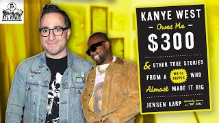 "Jensen karp explains the title of his book ""kanye west owes me $300"" and gives us a look into what it was like knowing kanye before he famous.catch r..."