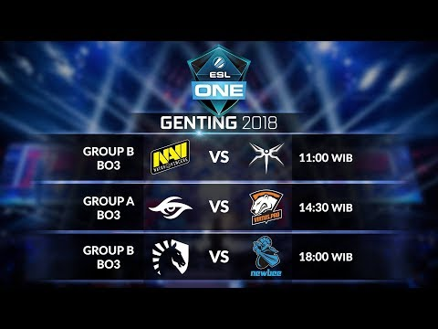 TEAM LIQUID  [EU] vs NEWBEE [CHN] (BO3) Group B @ESL ONE Genting Group Stage day 3