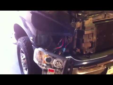 dodge ram hid resistor and capacitor wiring youtube 2011 Jeep Grand Cherokee Wiring Diagram dodge ram hid resistor and capacitor wiring