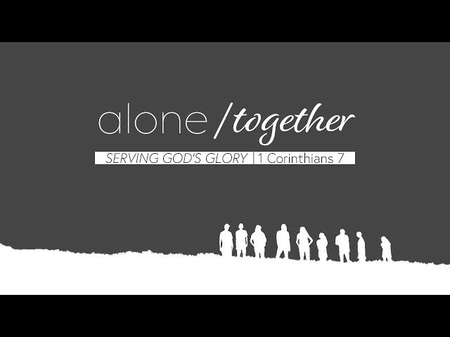 April 15, 2018: David Chotka - Alone or Together