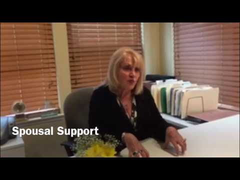 Spousal Support in California