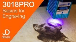 3018 Pro - Basics For Laser Engraving