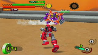 Gotcha Force GameCube Gameplay