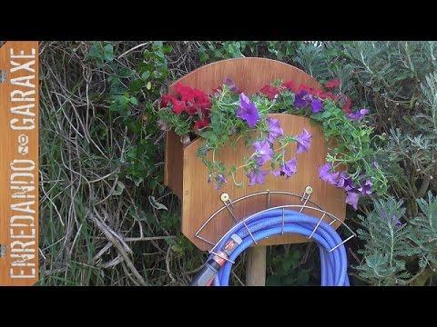 Soporte para manguera de jard n parte 2 youtube - Mangueras para jardin ...