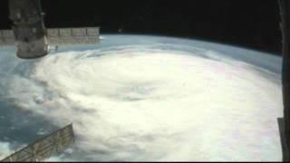 International Space Station Expedition 28: Hurricane Irene over Hampton roads/North Carolina