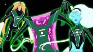 Зеленый Фонарь изумрудные рыцари