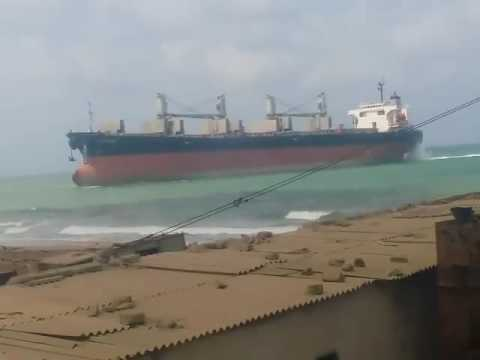'Postojna'' Beaching In Gaddani Ship Breaking Yard