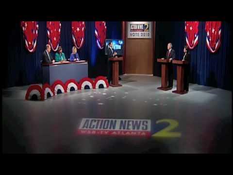 WSB-TV 2010 Georgia Republican Gubernatorial Debate - part 2