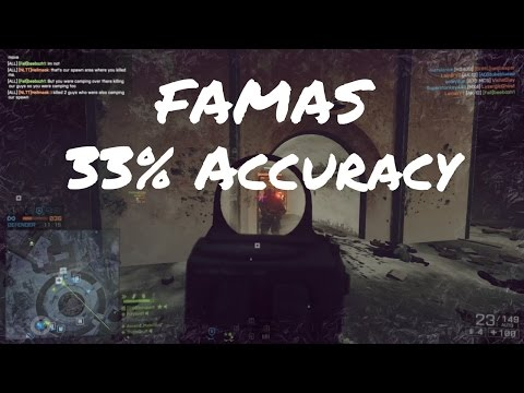 Battlefield 4 | FAMAS 33% Accuracy (52-9) | Twitch Highlights #8