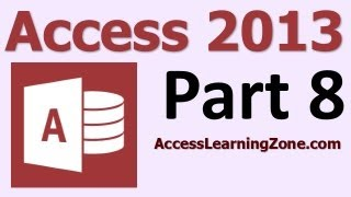 Microsoft Access 2013 Tutorial Level 1 Part 08 of 12 - Sorting & Filtering