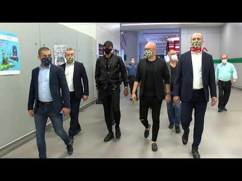 Fenerbahçe'nin anlaşmaya vardığı Marcel Tisserand, İstanbul'a geldi