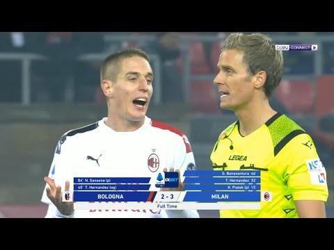 بولونيا 2-3 ميلان | ميلان يقتنص فوزاً قيصيرياً من أرض بولونيا | الجولة 15 | الدوري الإيطالي