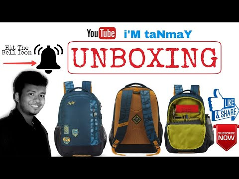 Skybags Bingo extra 01 Blue 36 L Backpack Unboxing. The Top Secret . দ্যা টপ সিক্রেট