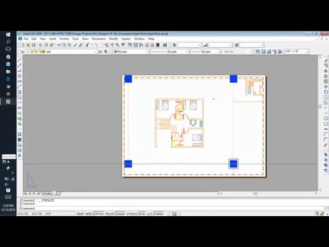 Autocad Layout Setting On Scale For Printing