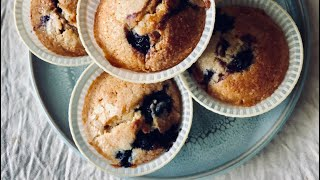 Lime and Blueberry Muffins - Episode 433 - Baking with Eda