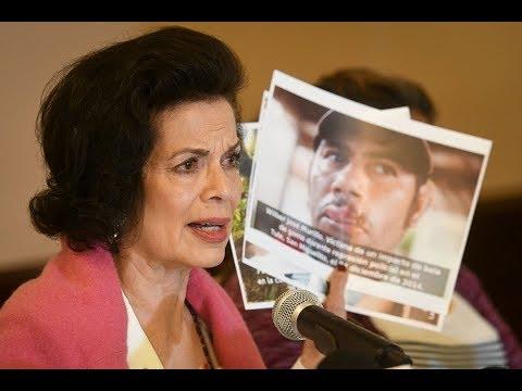 Bianca Jagger interpela al comandante Ortega (La Última Mirada News)