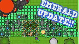 ZOMBS.IO NEW TIER 8 EMERALD UPDATE!! // Maxing Out Everything (Zombs.io Update)
