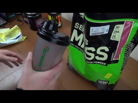 Гейнер Optimum Nutrition Serious Mass Проба!