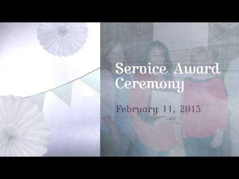 Service Award Slideshow