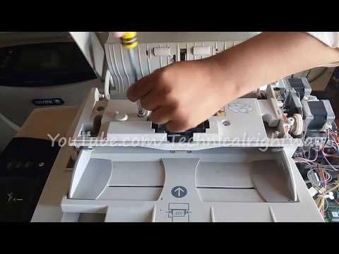 ADF Service Xerox R6 Services Full Video xerox 5765 5775xx Technical Right way