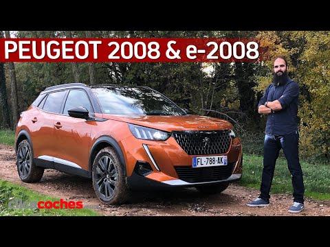 Peugeot 2008 y e-2008 (2020) | Primera prueba | Review en español - Clicacoches.com