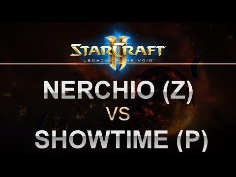 StarCraft 2 - LOTV - Nerchio (Z) v ShoWTimE (P) on Battle on the Boardwalk