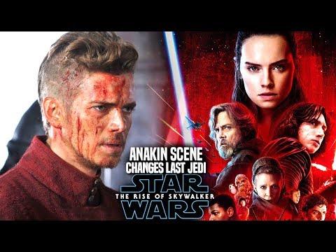 The Rise Of Skywalker Anakin Scene Changes The Last Jedi! (Star Wars Episode 9)