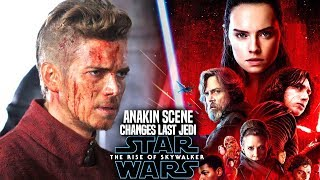 The Rise Of Skywalker Anakin Scene Changes The Last Jedi! (Star Wars Episode 9)