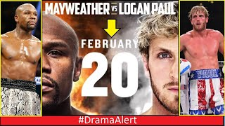 Logan Paul VS Floyd Mayweather ( Its OFFICIAL) 2/20/21 #DramaAlert Bryce Hall vs Lil Yachty & More!
