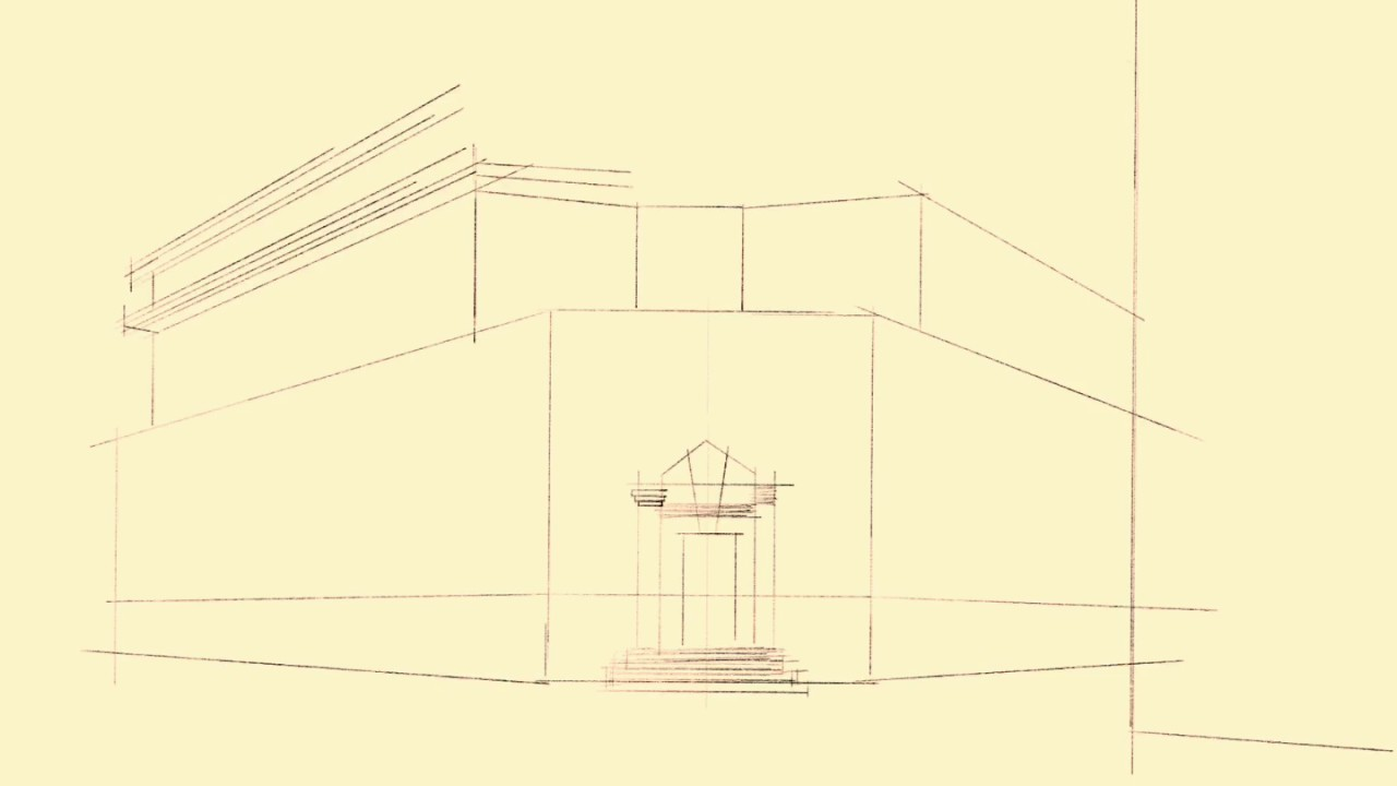 Architecture Drawing Ipad ipad pro architectural sketch procreate - youtube