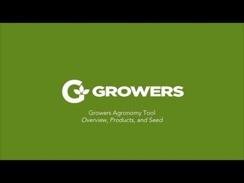Building your Crop Plan with Growers Agronomy Tool Demo