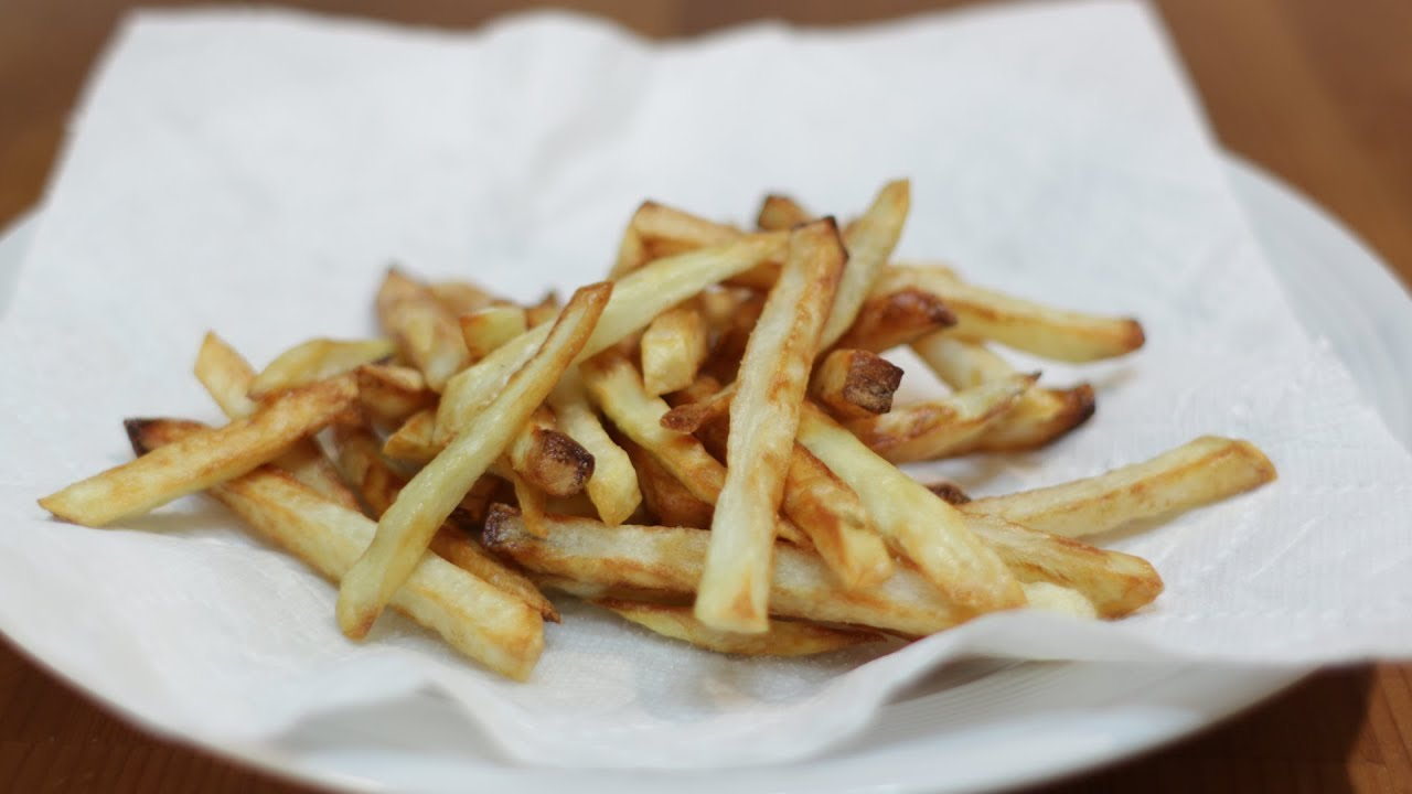 How To Make French Fries In Air Fryer Youtube