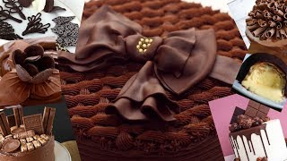 How To Make Chocolate Cake Decorations 2018 - Top 10 Amazing Cakes Decorating Tutorial Compilation