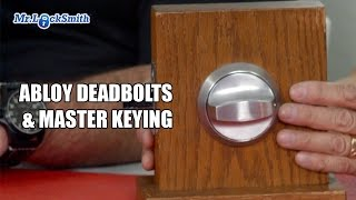 Abloy Deadbolts and Master Keying   Mr. Locksmith™ Video