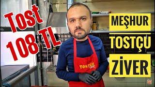 108 TL39;lik Tost Yedim  Ankara Sokak Lezzetleri