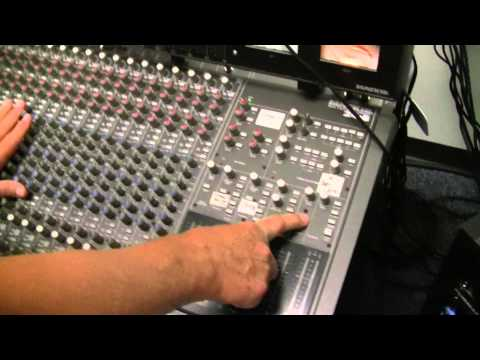 Recording studio tour, How to use a small 8 track recording studio for bands, voice over, etc.