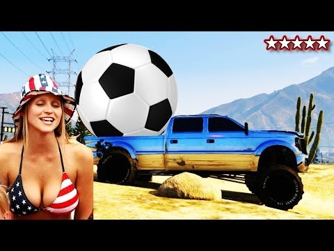 GTA 5 World Cup 2014 | How To Play Soccer On GTA V | Mini Game World Cup GTA