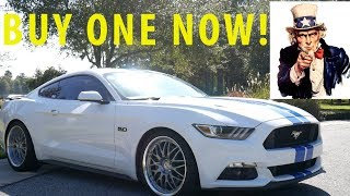 Why YOU Need To Buy A Mustang Right Now!