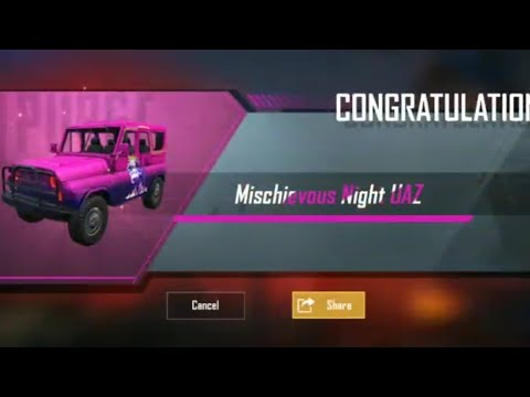 cyber-spin-awesome-outfits-and-uaz-skin-#pubgmobile