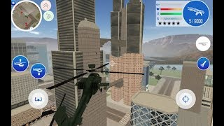 Gangster Town | US Army Helicopter Crash | Android GamePlay FHD