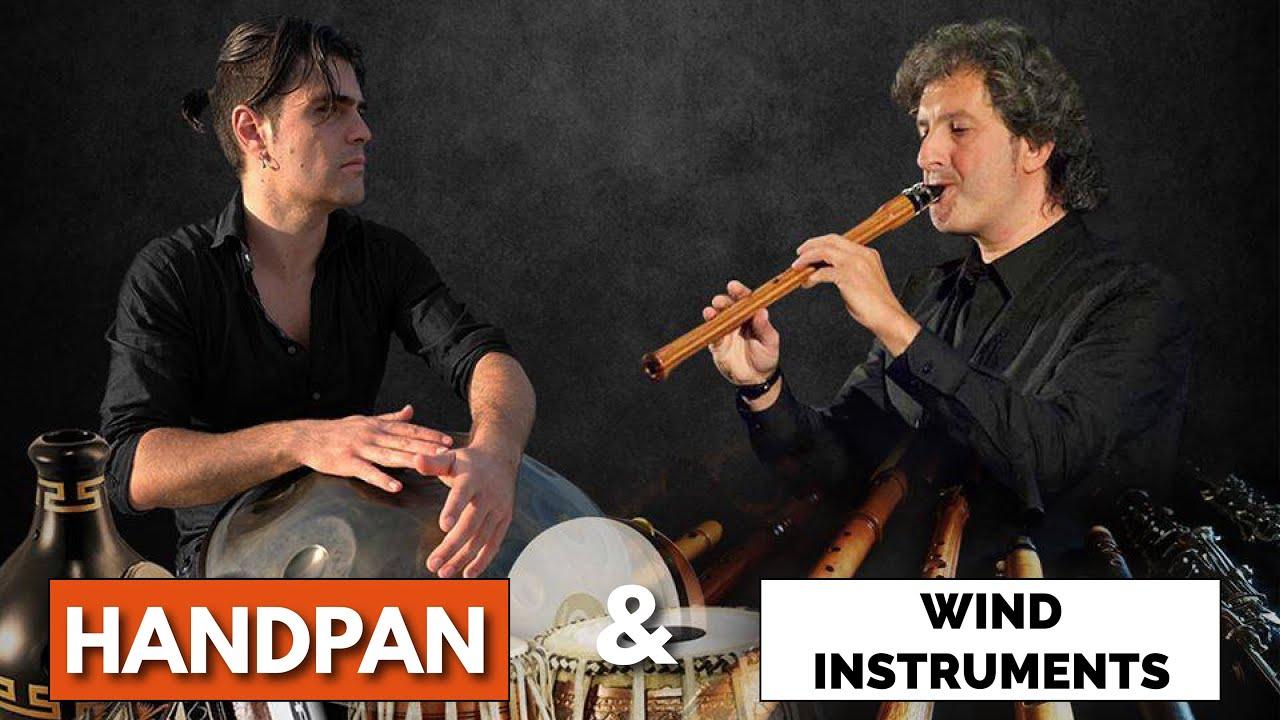 Loris Lombardo & Edmondo Romano - Handpan, Tabla, Cajon, Shaker, Sax and Loop station