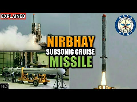 Nirbhay Missile - All About Nirbhay Subsonic Cruise Missile, Nirbhay Missile Test 2017 (Hindi)