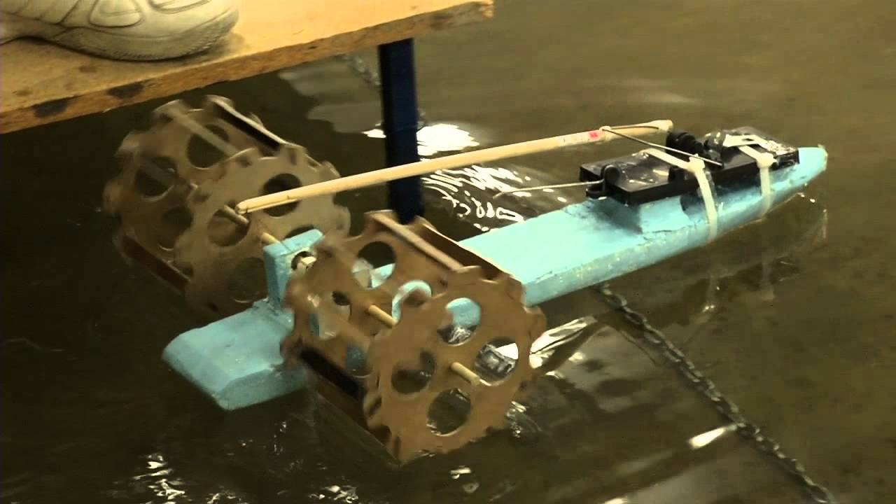 How to make rat trap boat