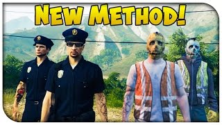 "GTA 5 Online - NEW & Easier Way to Get ""Police & Garbage Man"" Uniform! [GTA V Heist Update]"