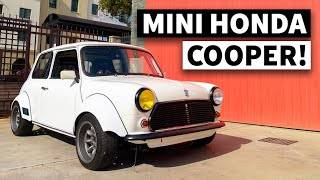 Honda K20 Swapped Mini Cooper - Vintage British Style With Modern Honda Power